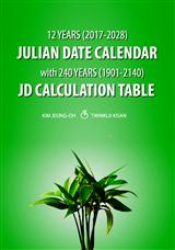 12 Years Julian Date Calendar with 240 Years JD Calculation Table